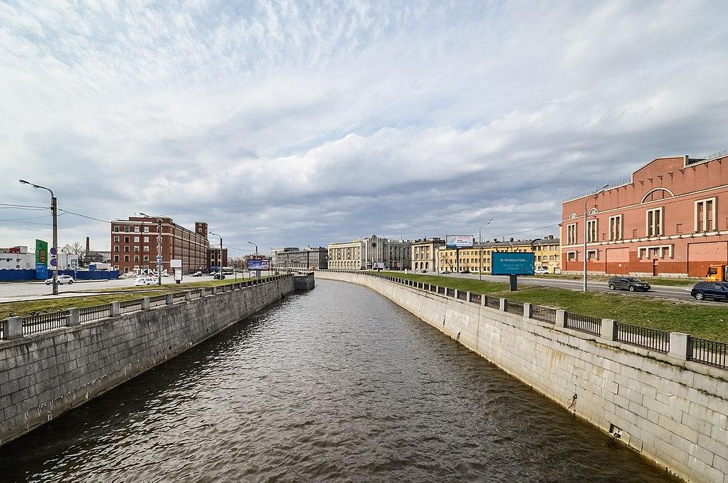 Обводной канал. Фото: Florstein (WikiPhotoSpace)