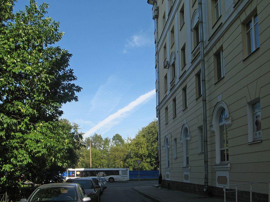 Улица Молдагуловой. Фото: Екатерина Борисова