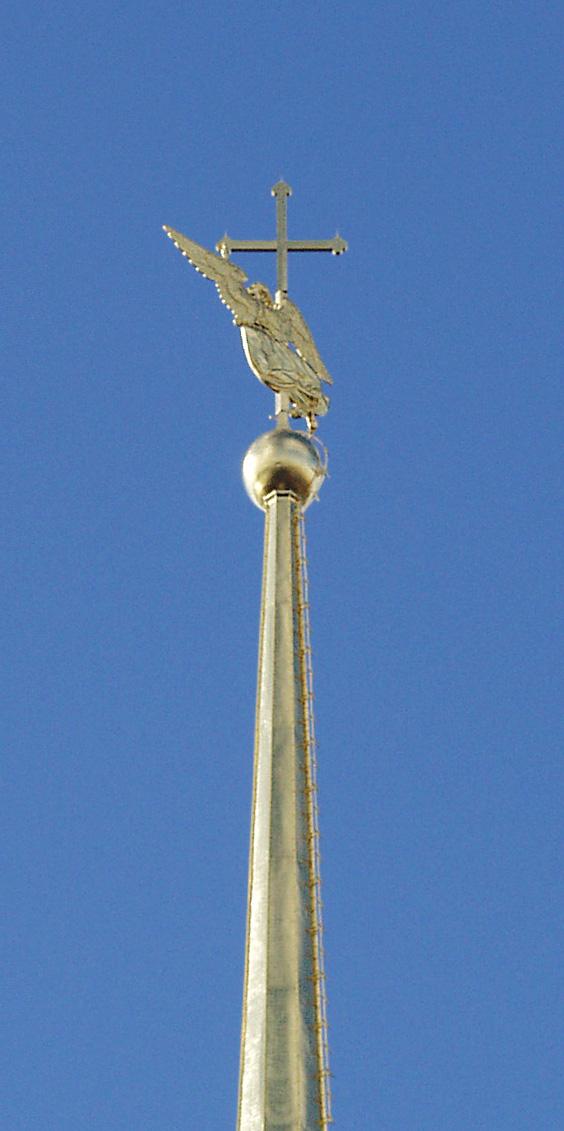 Ангел на шпиле Петропавловского собора. Автор фото: HorsePunchKid