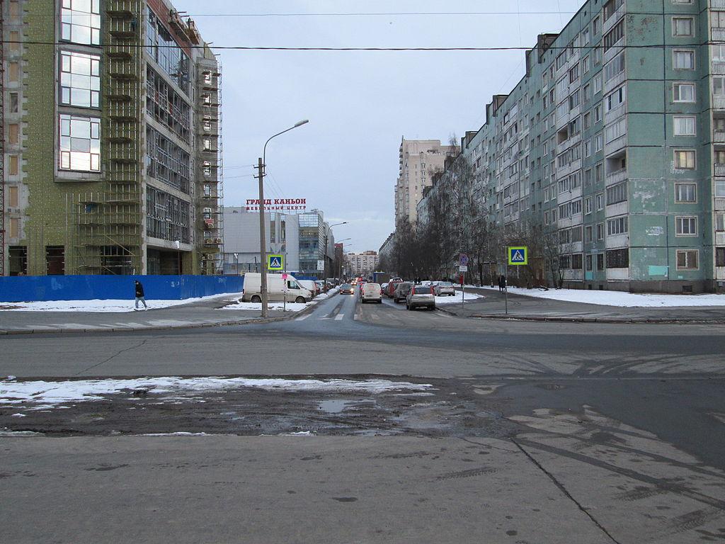 Улица Шостаковича. Фото: ArtTrapeza