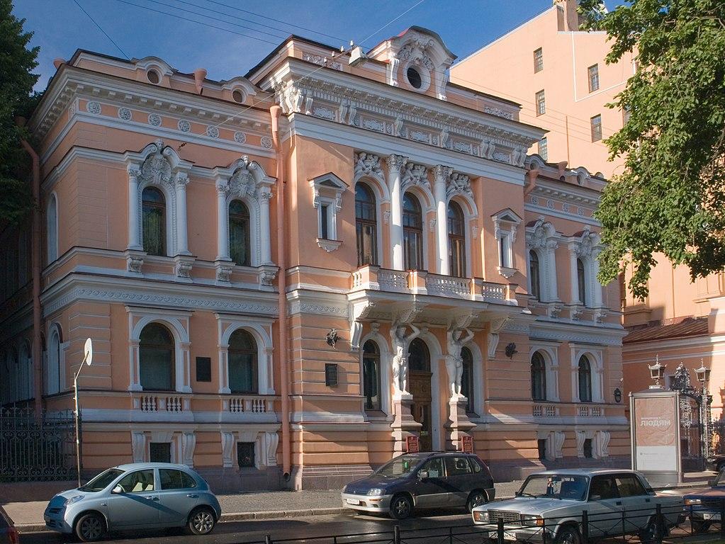 Особняк Спиридонова на Фурштатской улице в Санкт-Петербурге (Дом Малютки). Фото: George Shuklin (Wikimedia Commons)