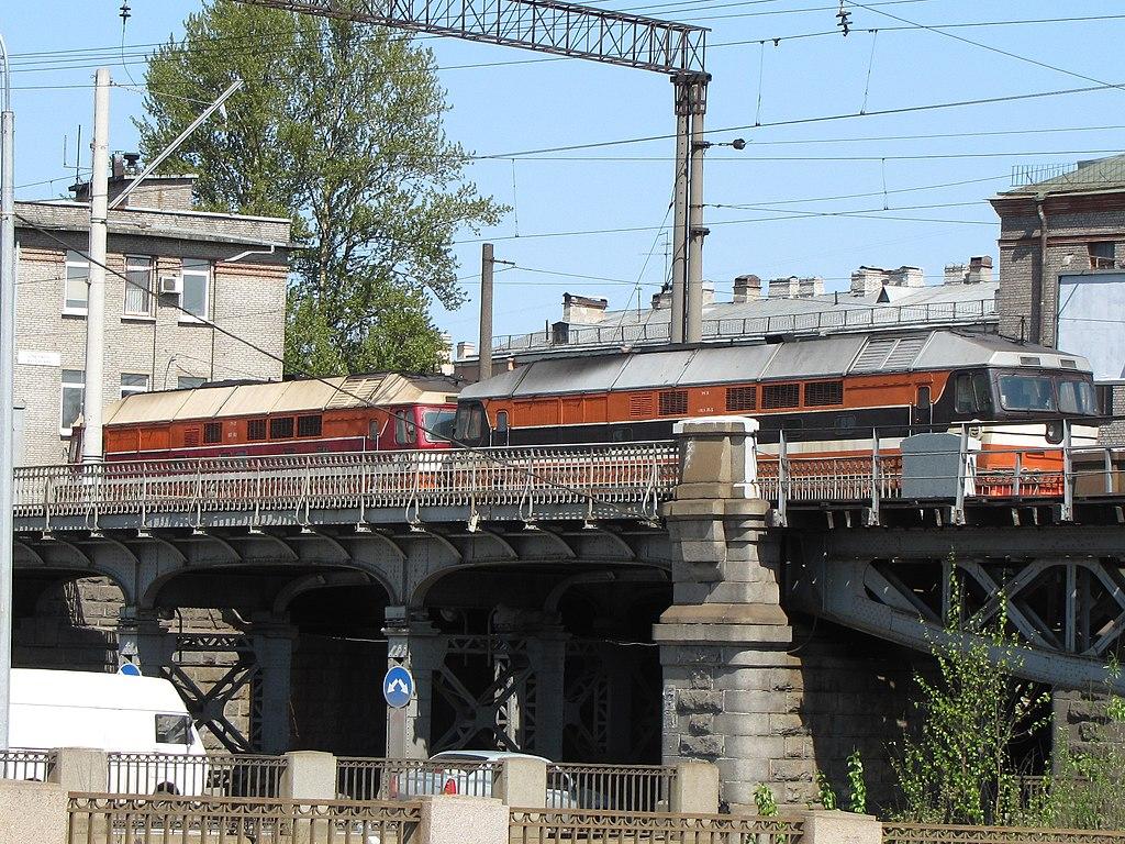 Царскосельский железнодорожный мост. Фото: No Redeeming Value (Wikimedia Commons)