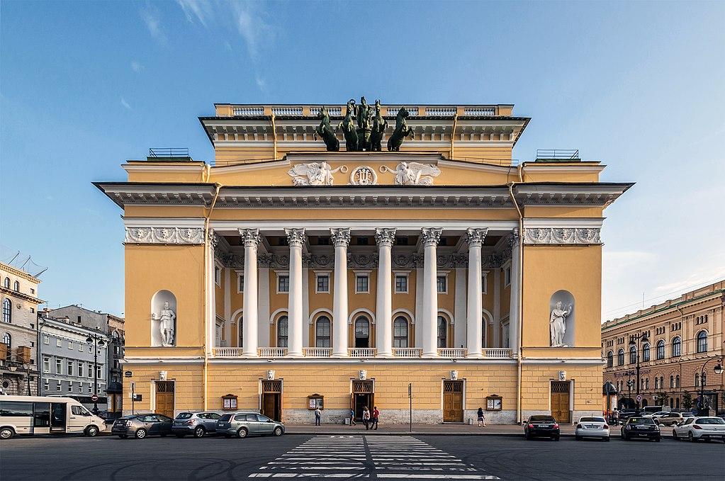 Александринский театр. Фото: Florstein (WikiPhotoSpace)