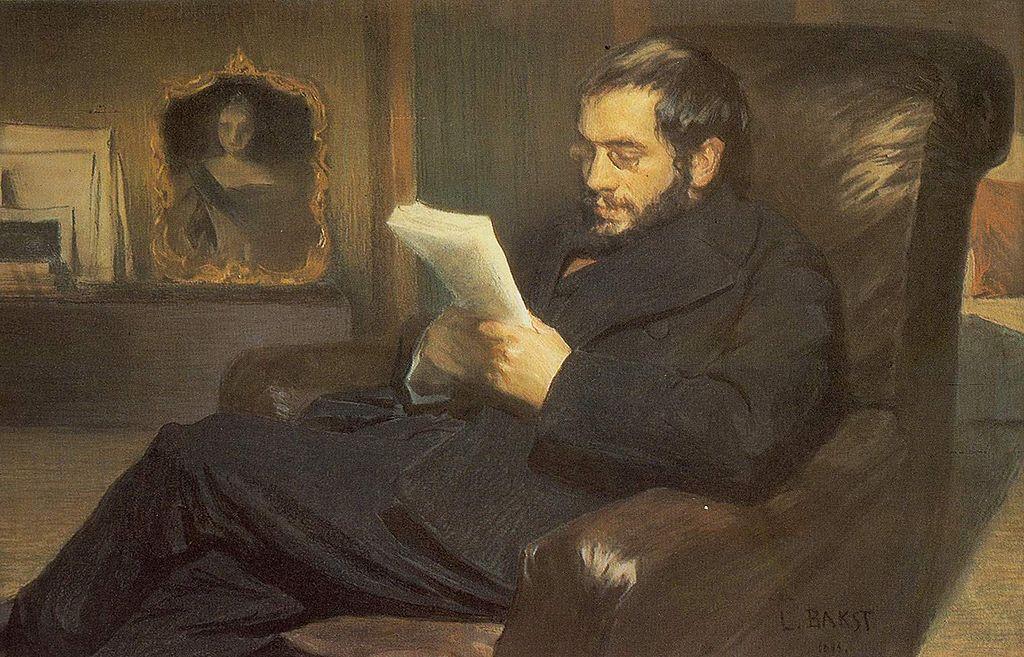 Александр Николаевич Бенуа (1870—1960). Портрет работы Леона Бакста, 1898 г.  Источник: (Wikimedia Commons)