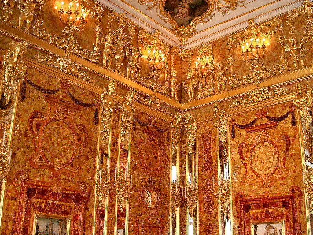 Янтарная комната. Фото: jeanyfan (Wikimedia Commons)