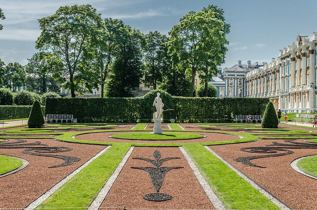 Екатерининский парк в Пушкине. Фото: Florstein (WikiPhotoSpace)