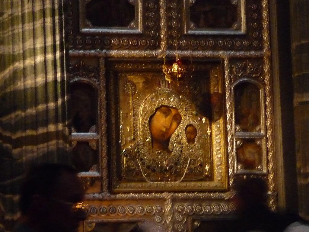Список Казанской иконы Божией Матери в Казанском кафедральном соборе в Петербурге. Фото: El Pantera (Wikimedia Commons)