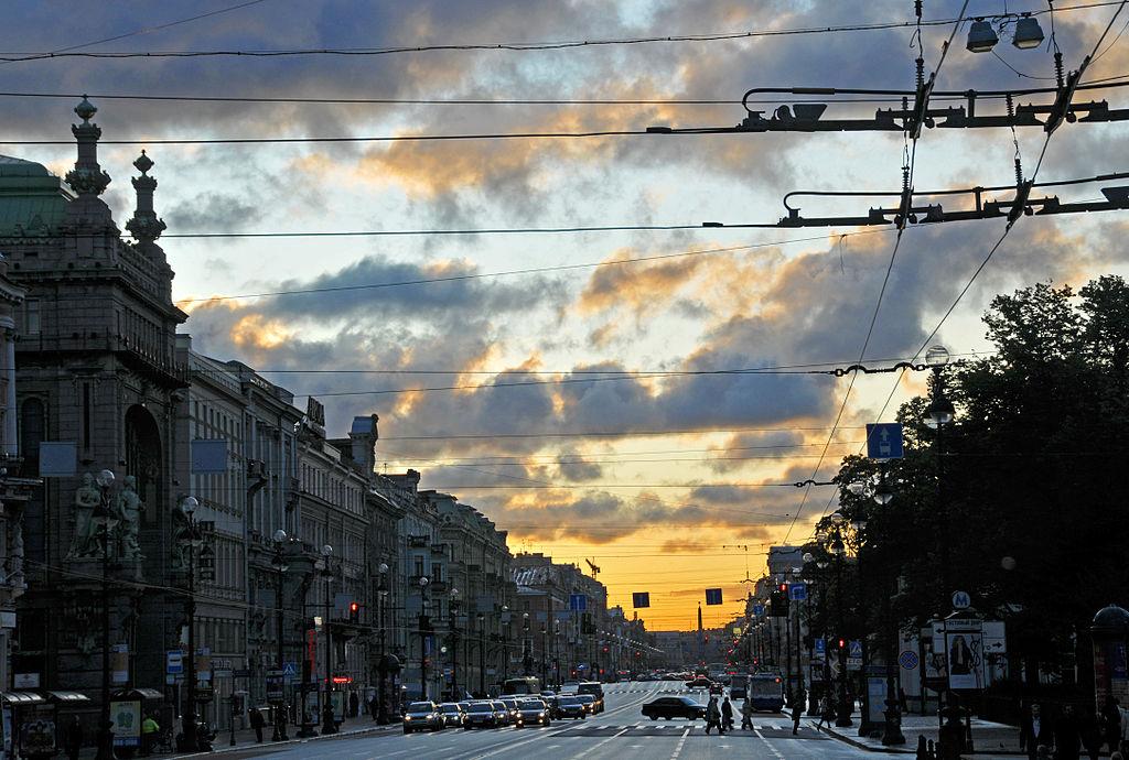 Невский проспект. Фото: Dennis Jarvis Halifax