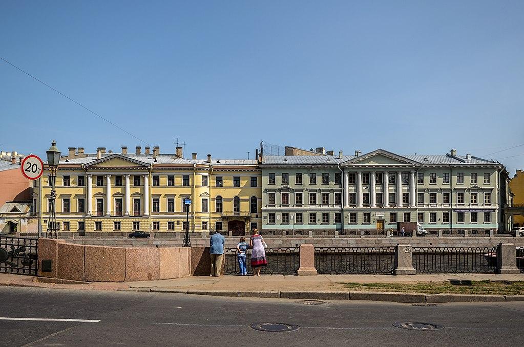 Набережная реки Фонтанки в Санкт-Петербурге. Фото: Florstein (WikiPhotoSpace)