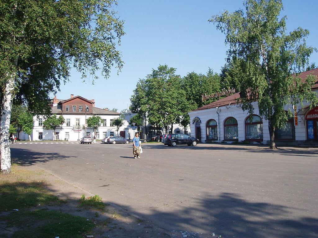 Гостинный двор Новая Ладога. Фото: Sea snake (Wikimedia Commons)