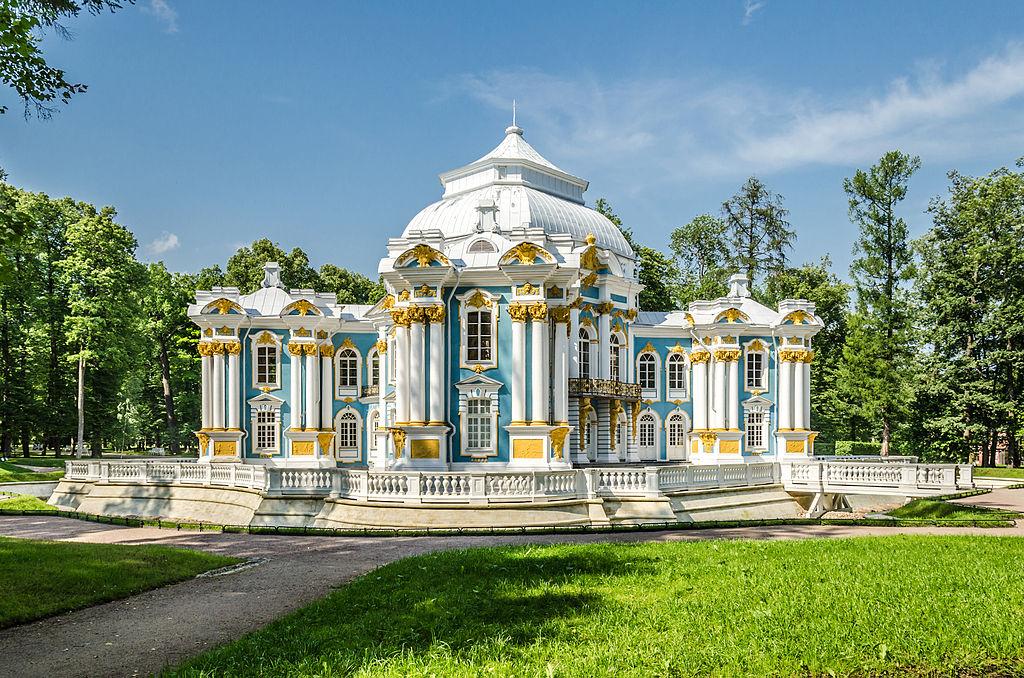 """Павильон """"Эрмитаж"""" в Екатерининском парке Царского села. Автор фото: Florstein (WikiPhotoSpace)"""
