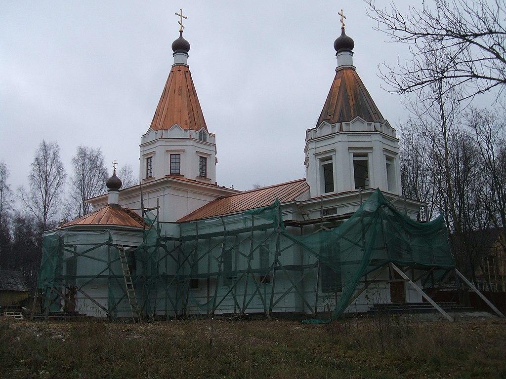 Церковь Новомучеников и Исповедников Российских. Фото: Пётр Иванов