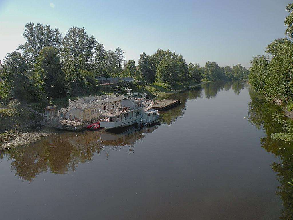 Устье реки Ижоры. Фото: Vitold Muratov
