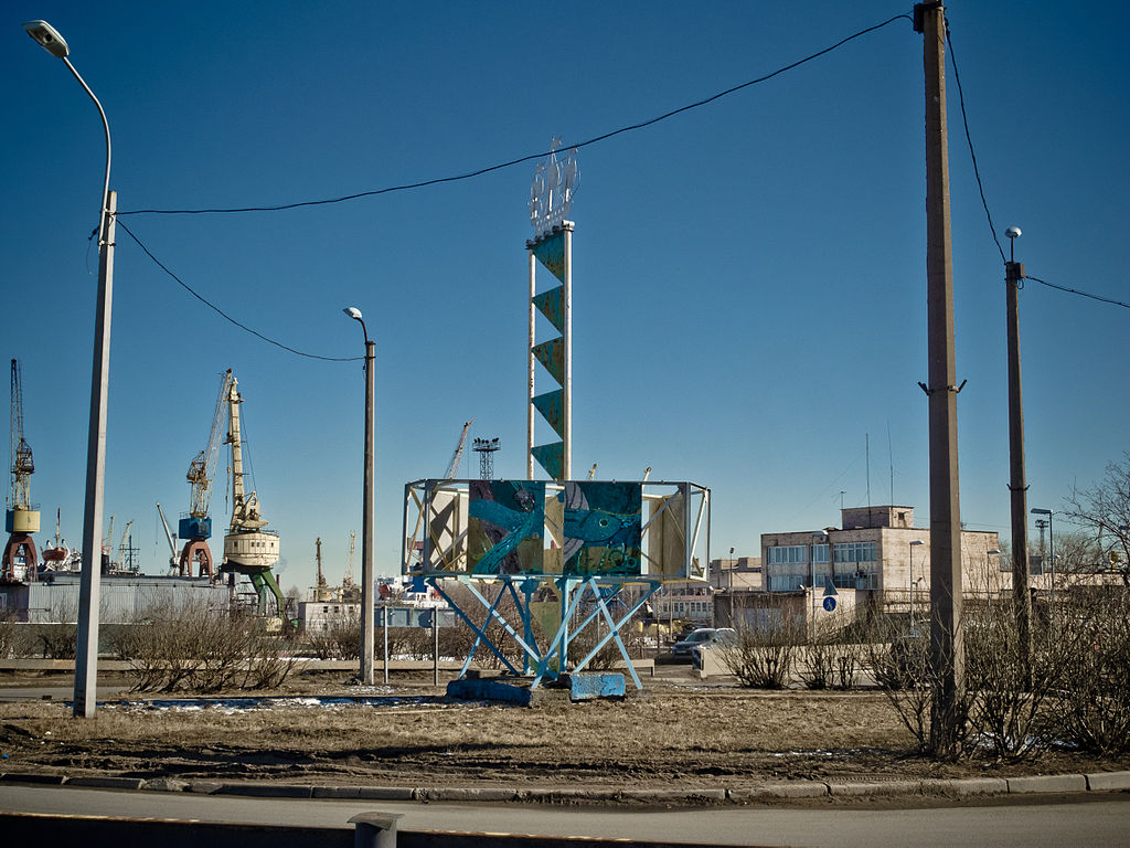 Канонерский остров, Санкт-Петербург. Фото: Florstein (Wikimedia Commons)