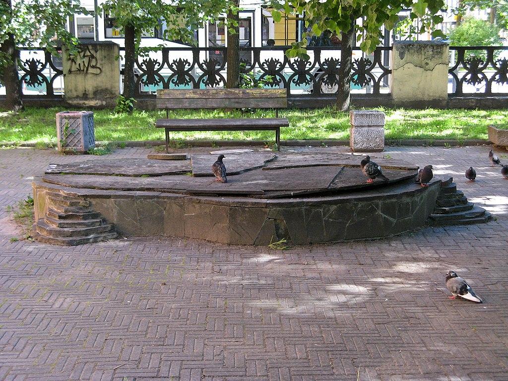 Сквер Красного Курсанта. Фото: Екатерина Борисова (Wikimedia Commons)