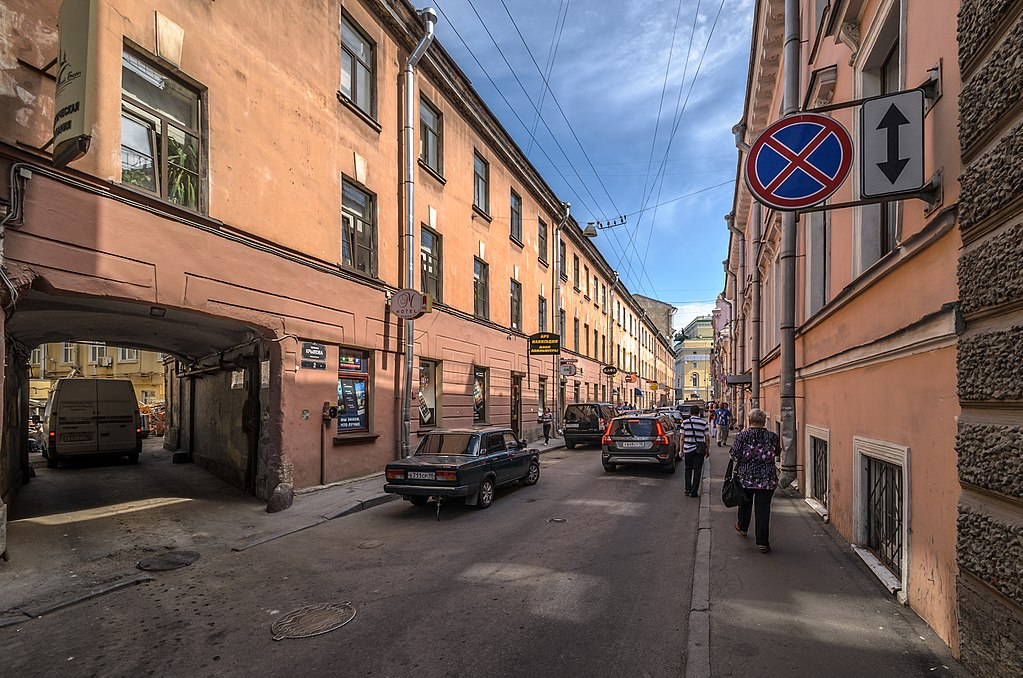 9. Переулок Крылова. Фото: Florstein (WikiPhotoSpace)