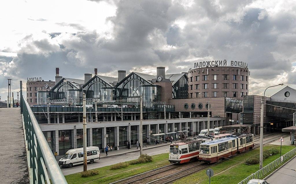 Ладожский вокзал. Фото: Florstein (WikiPhotoSpace)