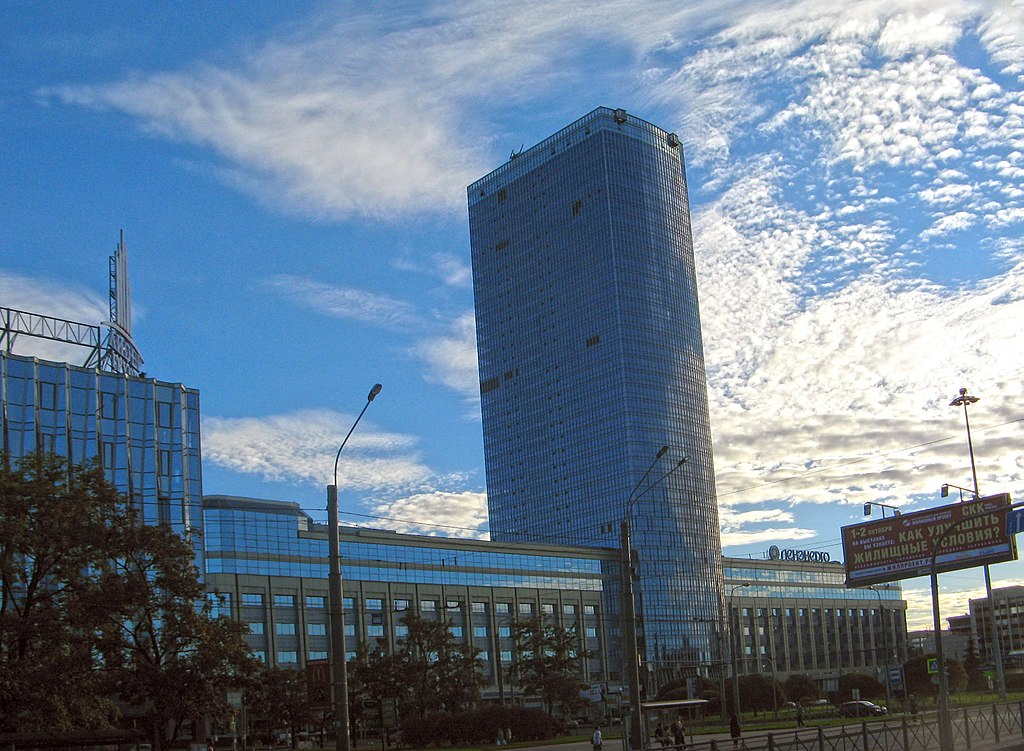 """Лидер Тауэр"" в Санкт-Петербурге. Фото: Екатерина Борисова (Wikimedia Commons)"