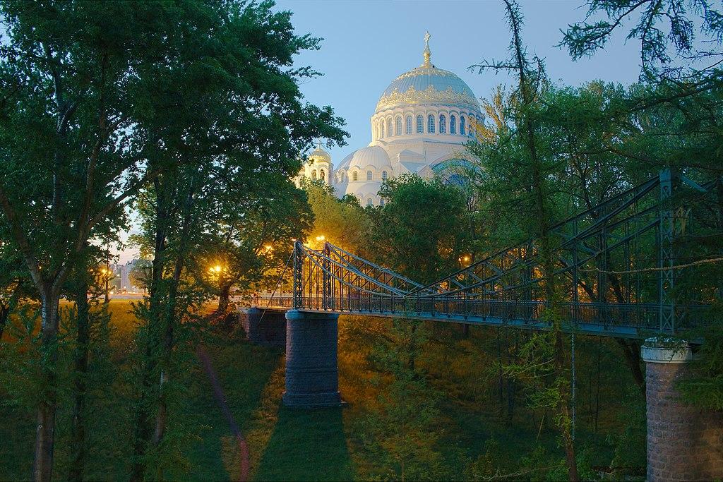 Кронштадт. Макаровский мост.. Фото: az.Anisimov (Wikimedia Commons)