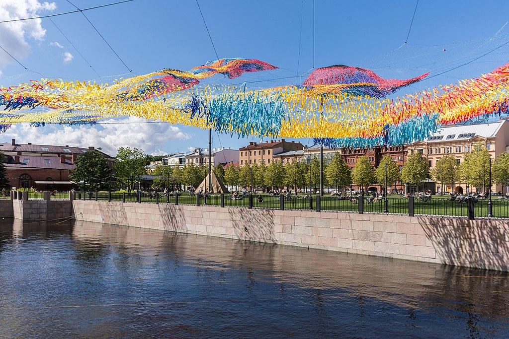 Остров Новая Голландия в Санкт-Петербурге. Фото: Florstein