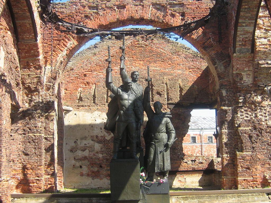 Памятник защитникам Орешка. Великая Отечественная война. Фото: 23vladimir