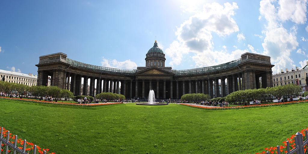 Казанский собор. Фото: Павел Геращенко (Wikimedia Commons)