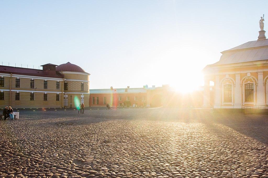 Монетный двор в Петропавловской крепости. Фото: Alexey Komarov (Wikimedia Commons)