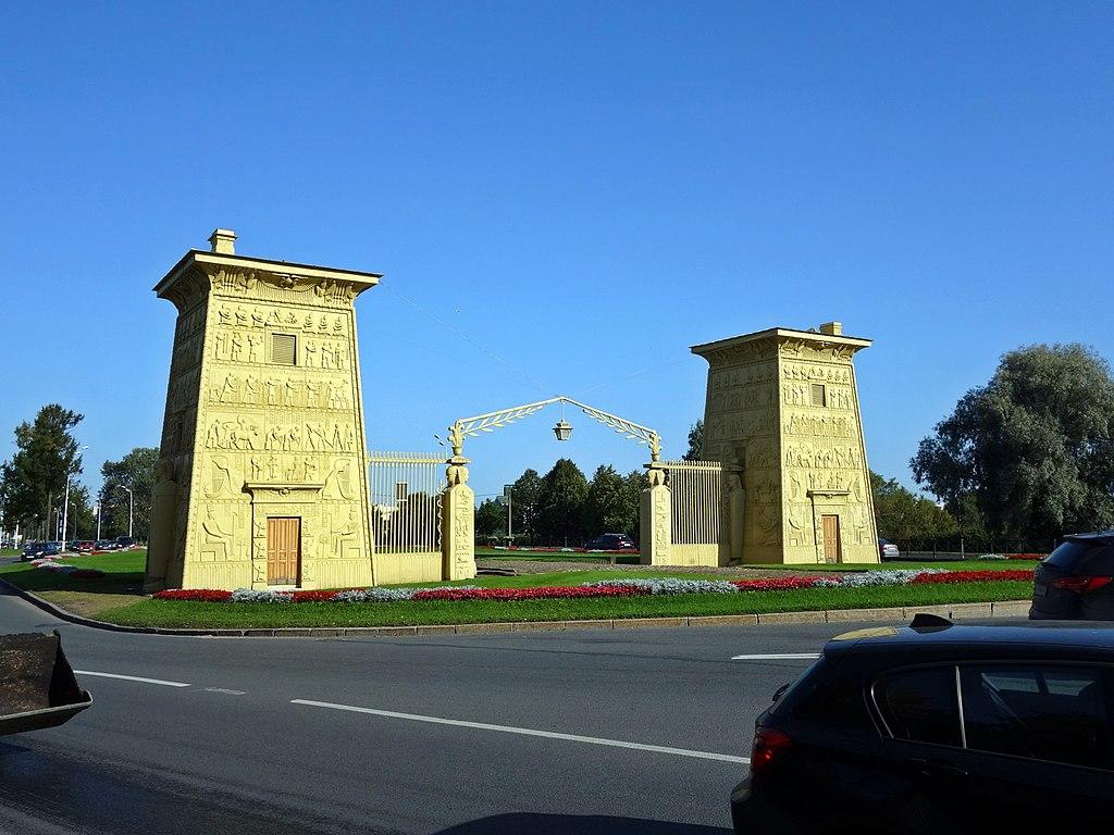 Пушкин. Египетские ворота. Фото: Тулип (Wikimedia Commons)