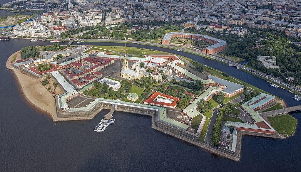 Петропавловская крепость. Фото: Andrew Shiva (Wikipedia)