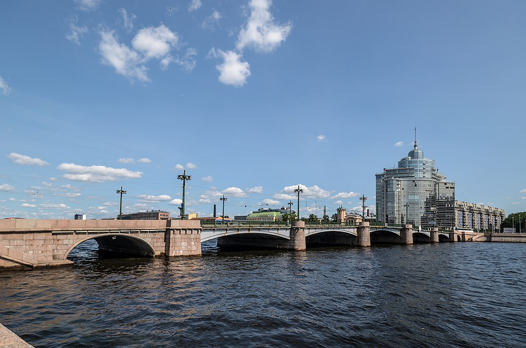 Сампсониевский мост. Фото: Florstein (WikiPhotoSpace)