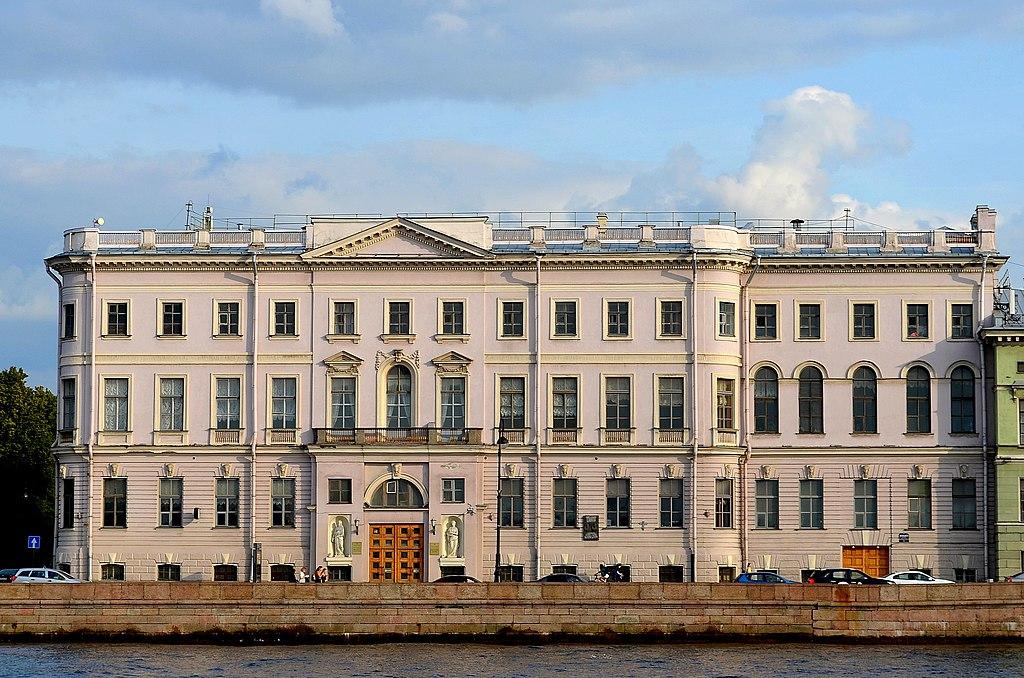 2. Дом Бецкого И. И. (принца Ольденбургского П. Г.): Дворцовая наб., 2 / Миллионная ул., 1. Фото: GAlexandrova
