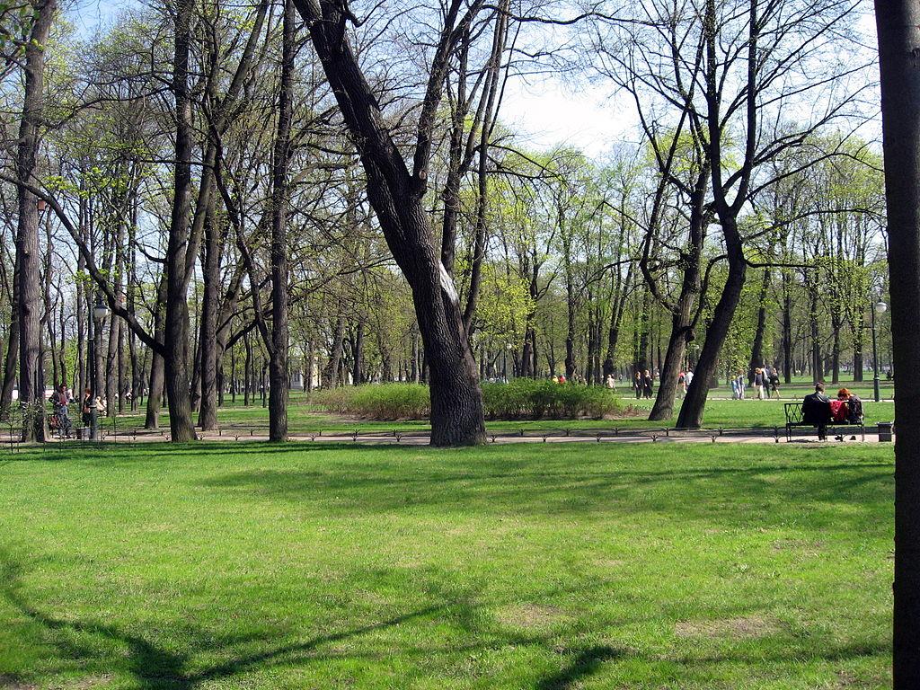 Михайловский сад. Фото: Dezidor (Wikimedia Commons)