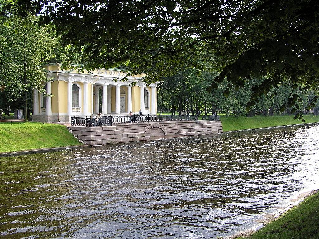 Набережная Мойки у Михайловского сада. Фото: Michael Hoffmann (Wikimedia Commons)