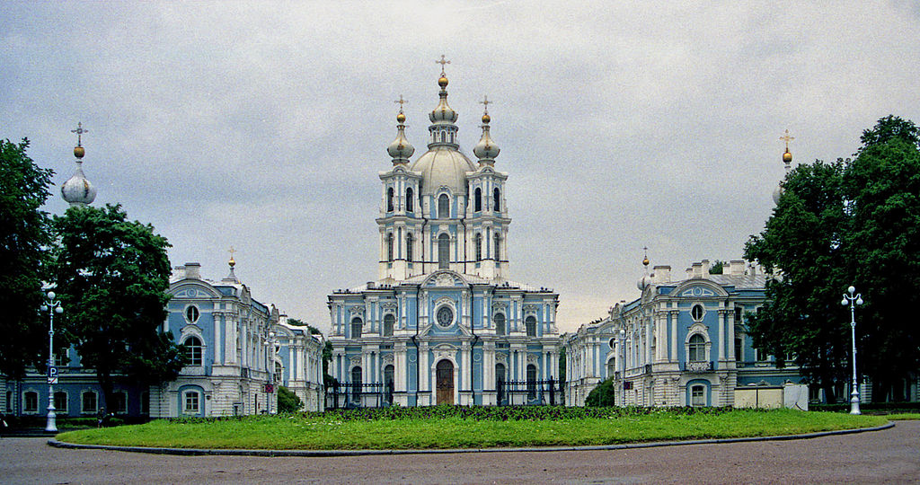 Смольный собор. Фото: Laban66 Potekhin (Wikimedia Commons)