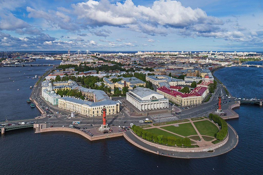 Васильевский остров. Фото: A.Savin (Wikimedia Commons · WikiPhotoSpace)
