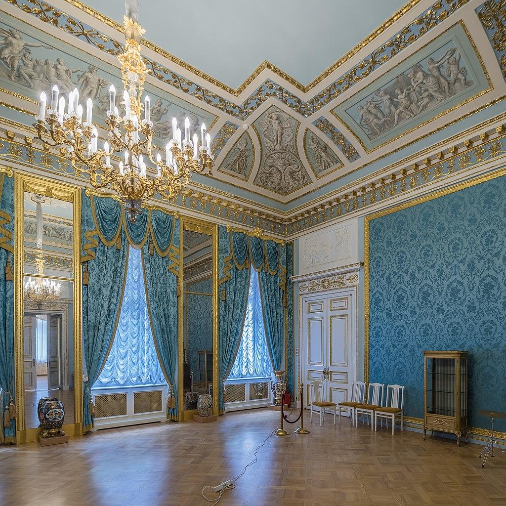 Голубой зал. зал. Фото: A.Savin (Wikimedia Commons · WikiPhotoSpace)