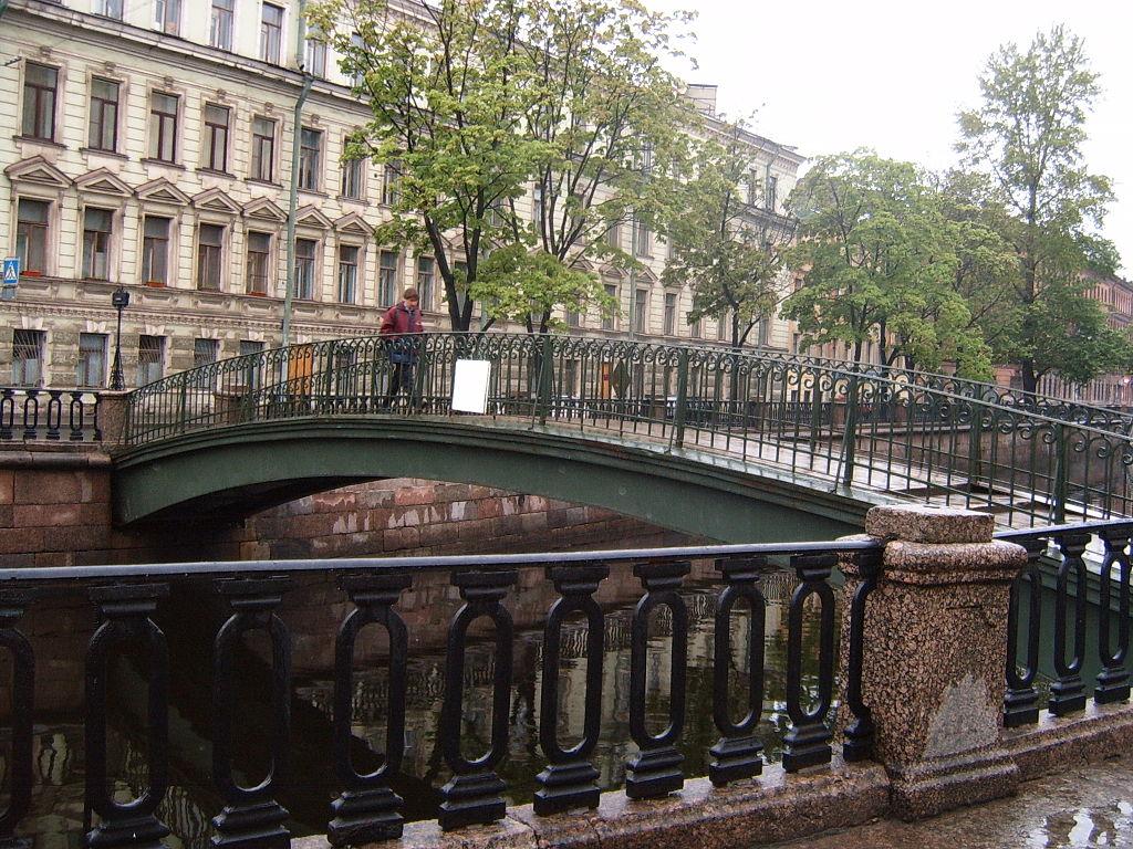 Сенной мост. Фото: PD-self (Wikimedia Commons)