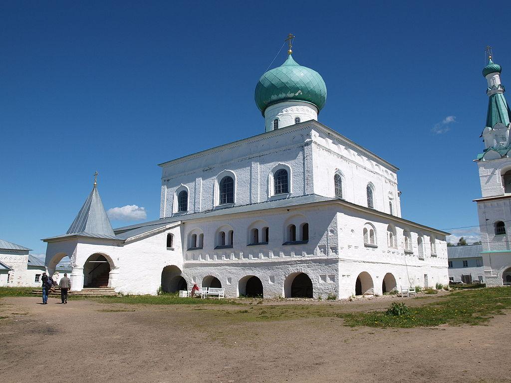 Собор Троицкий: Старая Слобода, Лодейнопольский район. Фото: IRINA LOGUNOVA (Wikimedia Commons)