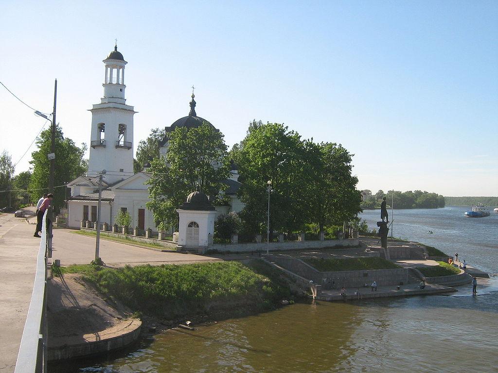 Церковь Александра Невского в Усть-Ижоре. Фото: Peterburg23
