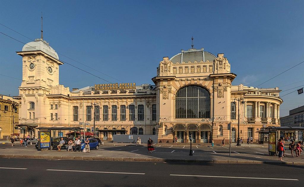7. Витебский вокзал. Фото: Florstein (WikiPhotoSpace)