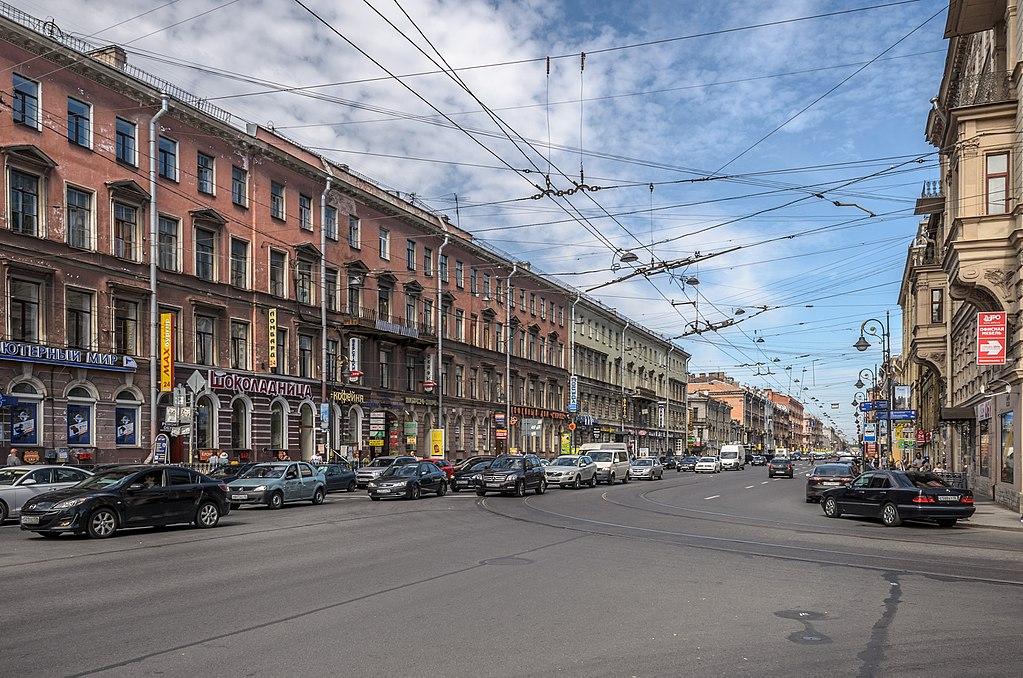 Владимирский проспект. Источник фото: Florstein (WikiPhotoSpace)