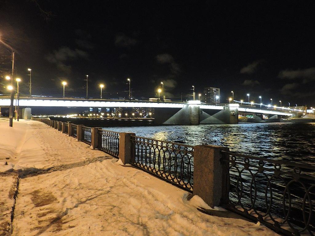 Володарский мост. Фото: Monoklon