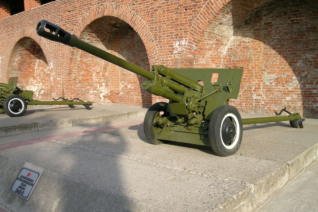 76-мм дивизионная пушка образца 1942 года (ЗиС-3). Фото: LostArtilleryman~commonswiki