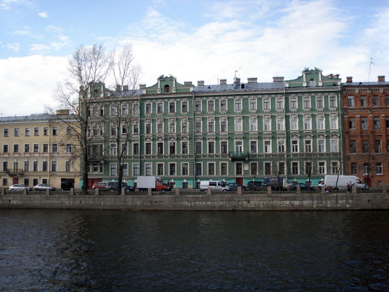 Доходный дом Клокачёва (по наб. Фонтанки). Фото: miraru1 (citywalls.ru)