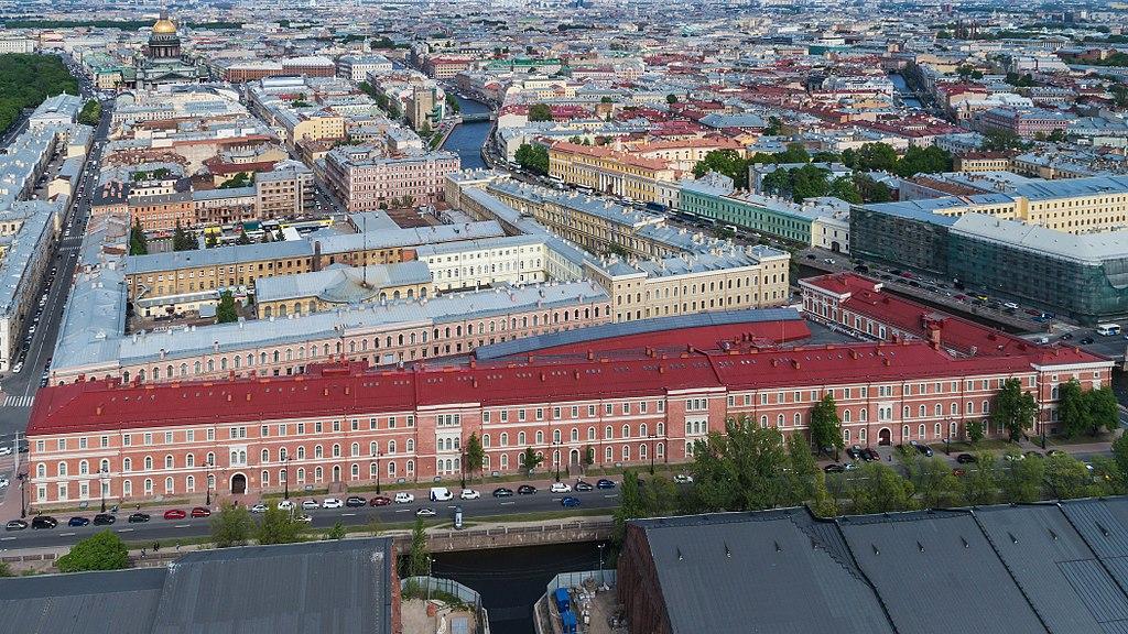 Военно-Морской музей. Фото: A.Savin (Wikimedia Commons   · WikiPhotoSpace)