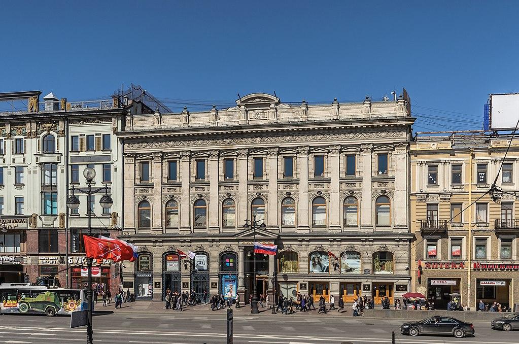 """Универмаг """"Пассаж"""" на Невском проспекте. Автор фото: Florstein (WikiPhotoSpace)"""