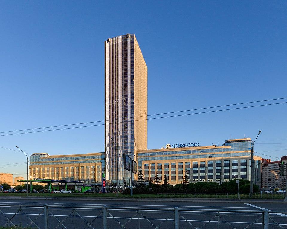 Лидер-Тауэр в Санкт-Петербурге. Автор фото: A.Savin (Wikimedia Commons · WikiPhotoSpace)