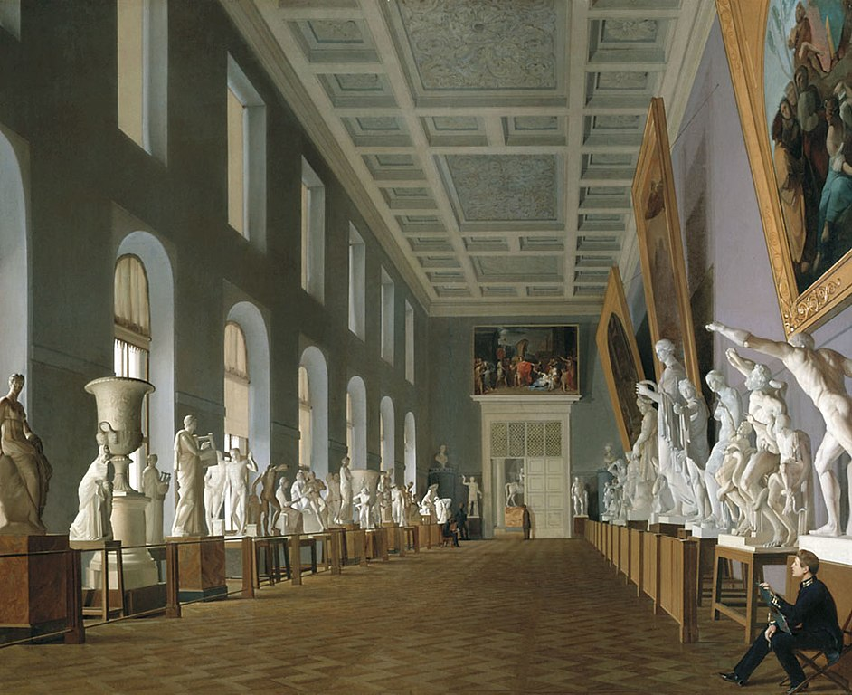 Вторая галерея антиков, 1836 г. Фото: Г.К.Михайлов - G.K. Mikhailov (Wikimedia Commons)
