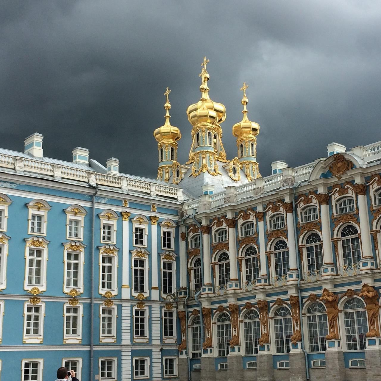 Дворец Екатерины, Санкт Петербург. Фото: suesun