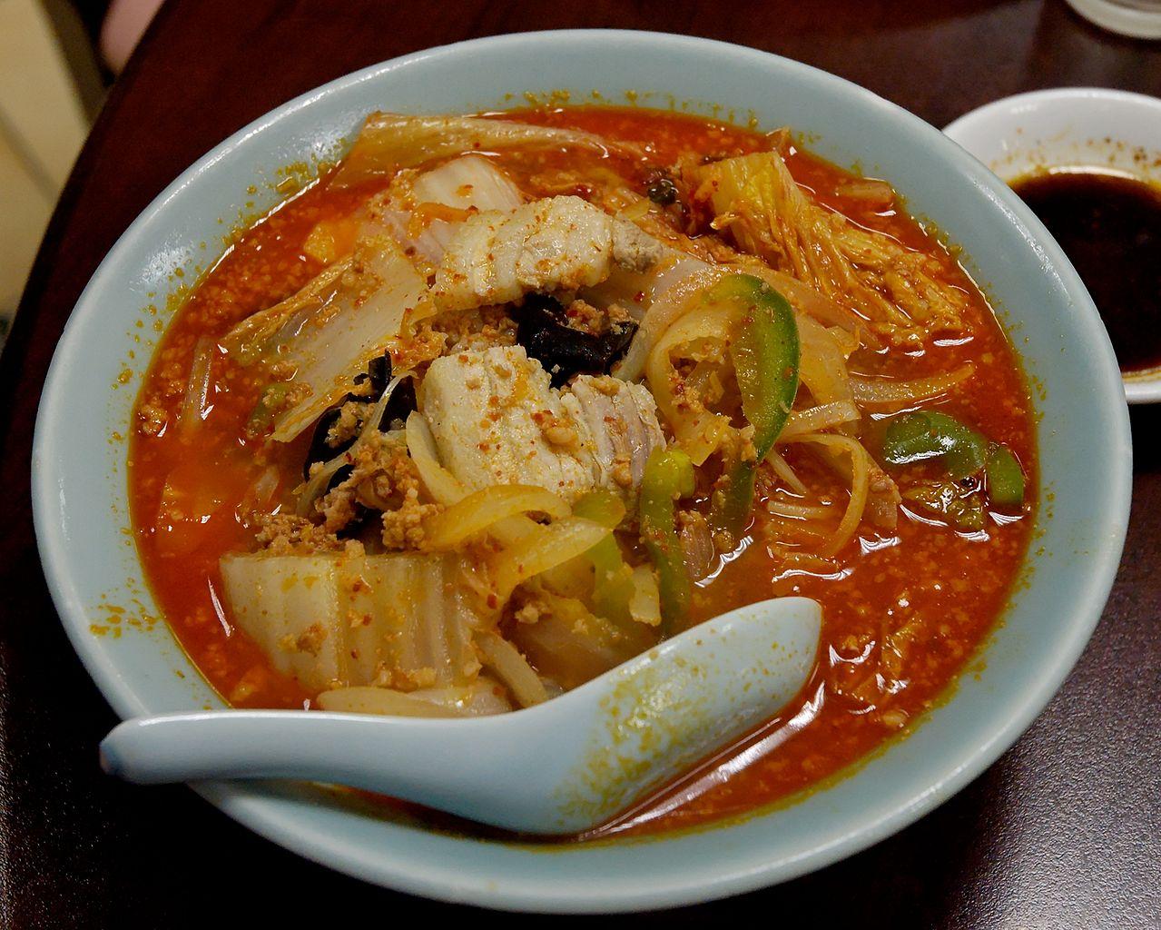 Кимчи-рамэн. Фото: Public Domain